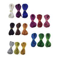 300 yards 1mm Metallic Silk Thread String Cord DIY Jewelry Beading Crafts