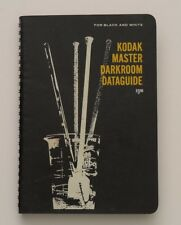 Vintage Kodak Master Darkroom Data Guide for Black and White Spiral Book 1966