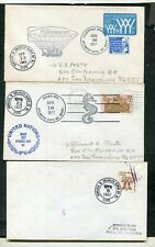 LOT OF 8 COVERS, MARSHALL ISLANDS (6 SCANS)