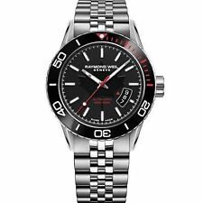 Raymond Weil  2760-ST5-CA150 Men's Freelancer  Silver Automatic Watch