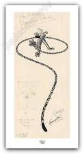 Affiche Franquin Spirou et les héritiers Le Marsupilami 500ex 50x100 cm
