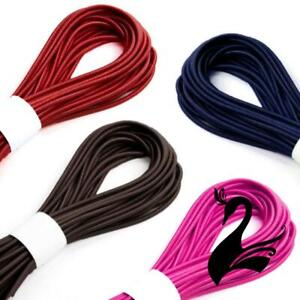 Round Mask & Millinery Elastic Cord 2mm (Price per length) - Sewing Craft DIY
