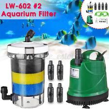 Aquarium Fish Tank External Canister Filter Outside Pre-Filter mini
