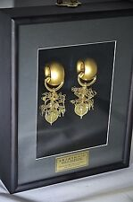 Korean National Treasure No. 90 24K Gold Plated Earrings - Old Silla Replica
