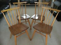Ercol Windsor 391 dining chairs