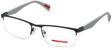 Prada Linea Rossa PS52FV TFZ1O1 52mm Eyeglasses Dark Grey 52mm Optical Frame