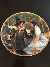Wizard of Oz Dorothy Meets the Scarecrow Hamilton Plate