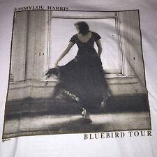 Emmylou Harris 1989 Blue bird vintage tour T-shirt