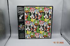 A Looney Tunes Christmas 500 pc Puzzle 1996 HALLMARK Springbok Family BUGS BUNNY