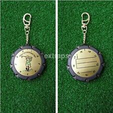 Golf Stroke Shot Putt Score Counter Keeper Scoring Tag Clip Keychain 18 Hole US
