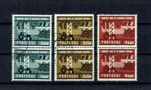 Portugal 1966 USED Pairs complete set #974-6 CTO 40 Aniv. Revolucao Nacional