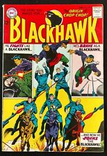 BLACKHAWK #203 BRILLIANT FN+ LOOKS BETTER ORIGIN OF CHOP-CHOP THE WHITE DRAGON