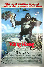 Framed Print - King Kong 1976 Movie Poster (Replica Picture Godzilla Megalon)