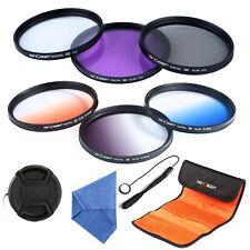 K&F Concept 77mm UV CPL FLD G-Grey G-Orange G-Blue Filter Kit for Canon Nikon