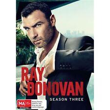 RAY DONOVAN.-Season 3-Region 4-New AND Sealed- 3 DVD Set-TV Series