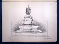 Eisenlohr/ Weigle Architektonische Rundschau 9. Jhg Lieferung 7 1893 Kunst sf