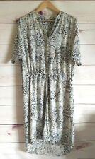 Kaleidoscope Shirt Dress Plus Size Uk 20 Drawstring Waist Short Sleeve Long