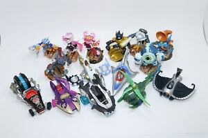 SKYLANDER SUPERCHARGERS LOT15 FIGURES COSMETIC DMG WORKING TESTED #A