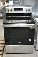 "Whirlpool Wfe535S0Js 30"" Stainless Electric Range Nob #93755 Hrt"