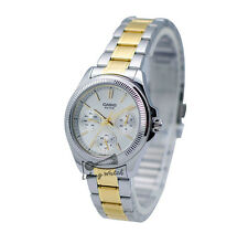 -Casio LTP2088SG-7A Ladies' Metal Fashion Watch New & 100% Authentic