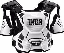 Thor Child Guardian Deflector Body Armour 2XS/XS White/Black Quad ATV MX