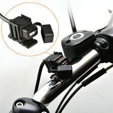 Motorcycle 12V 2.1A USB Power Port Socket Mobile Charger Single Port for Phone