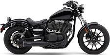 "Cobra 4"" Black Exhaust Muffler For Yamaha XV 950 Bolt 13-16 2527B"