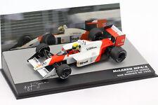 Ayrton Senna McLaren Mp4/4 #12 Gangant San Marino Formule GP 1 1988 1 43