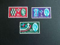 GB 1962 Commemorative Stamps~NPY~Phosphor~Unmounted Mint Set~UK Seller