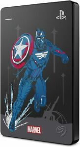Playstation 4 External Game Drive 2TB Avengers Gamer Verse Captain America NEW!