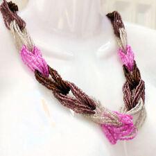 Glass Statement Round Costume Necklaces & Pendants