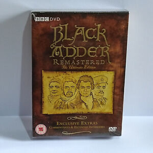 Blackadder Remastered DVD Box Set The Ultimate Edition Exclusive Extras
