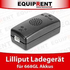 Externes Ladegerät / Charger für Lilliput 668GL-70NP Akku / Battery (EQ537)