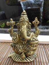 Lord Ganesh Ganapati Ganesha Hinduism Brass statue Amulet