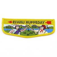 Eswau Huppeday Lodge 560 OA Boy Scout Flap Patch BSA WWW