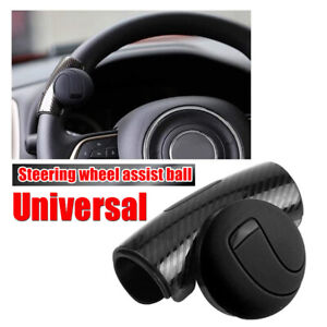 Universal Car Auto Steering Wheel Handle Aid Assist Booster Ball Spinner Knob 1x