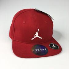 Nike Air Jordan Red/White Jumpman Logo INFANT 6A8391 Snapback Baseball Hat NWT