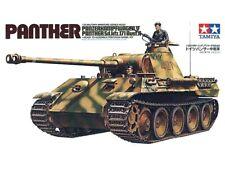 Tamiya 35065 WWII German Panther Tank 1/35 Scale Plastic Model Kit