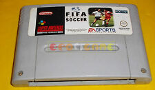 FIFA INTERNATIONAL SOCCER Super Nintendo SNES Vers PAL Europea ○ SOLO CARTUCCIA