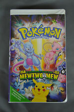 POKEMON: The First Movie Mewtwo #151 versus Mew #150 / VHS