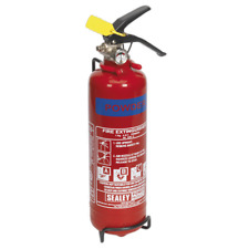 SDPE01 Sealey 1kg Dry Powder Fire Extinguisher [Fire Protection]