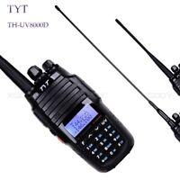 TYT TH-UV8000D Walkie Talkie VHF/UHF Dual Band 2-Way FM Radio Transceiver 10WHP