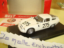 ALFA ROMEO TZ 1 MONZA 1963 MODEL BEST 1/43 MADE IN ITALY
