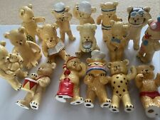 """Danbury Mint Pam Storey """"Teddy Bears� Collectible Figurines 16 Mixed"""