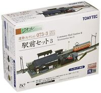 Tommy Tech Jiokore Building Collection 073-3 Station Set 3 Diorama Supplies