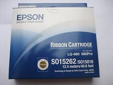 15 x Epson S015262 LQ-680 Pro Ruban original fact. + MwSt sous emballage