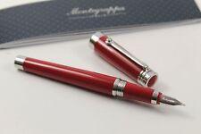 MONTEGRAPPA AFFECTIF AMARONE Red Penna Stilografica Pregiata resina rhodium plated acciaio inox