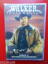walker texas ranger disco n.4 quarta stagione chuck norris arti marziali film gq