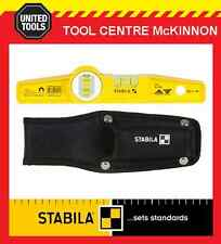 """STABILA TYPE 81S REM 25cm / 10"""" MAGNETIC TORPEDO SPIRIT LEVEL WITH POUCH"""