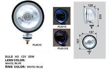 NAVARA JEEP HDJ 4X4 LAND PAJERO L200 PATROL  2 BEAUX PHARES 16CM CHROME + LED!